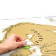 Stírací mapa Scratch Map Europe ORIGINÁL