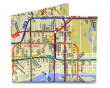 Peněženka Mighty Wallet - NYC Subway Map