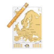 Scratch Map Europe ORIGINAL