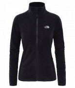 Mikina The North Face W 100 Glacier Full Zip dámská, 260 g