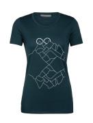 Hory a nekonečno merino T-shirt SS Women's
