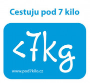 Samolepka Pod 7 kilo