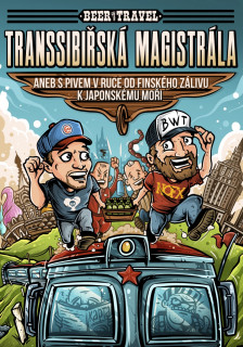 Kniha Transsibiřská magistrála - Beer with Travel
