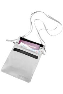 Skrytá kapsa na krk Cocoon Passport Wallet Silk Sand grey