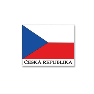 Czech Flag Cloth Badge