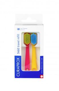 Curaprox CS 5460 Travel Set Repleceable Toothbrush Heads