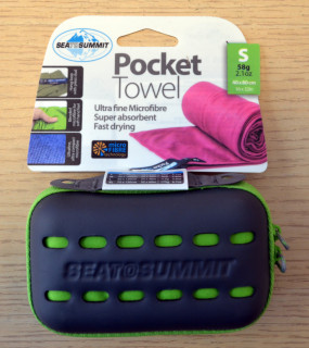 Kapesní ručník Sea to Summit Pocket Towel S