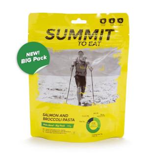 Summit To Eat Losos s těstovinami a brokolicí