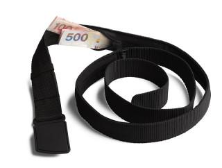 Pásek s kapsou Pacsafe Cashsafe