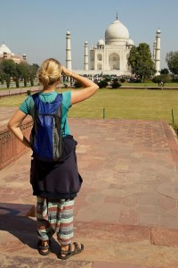 Příklad: Indie, Taj Mahal - Mini batoh Sea To Summit Ultra-Sil Daypack